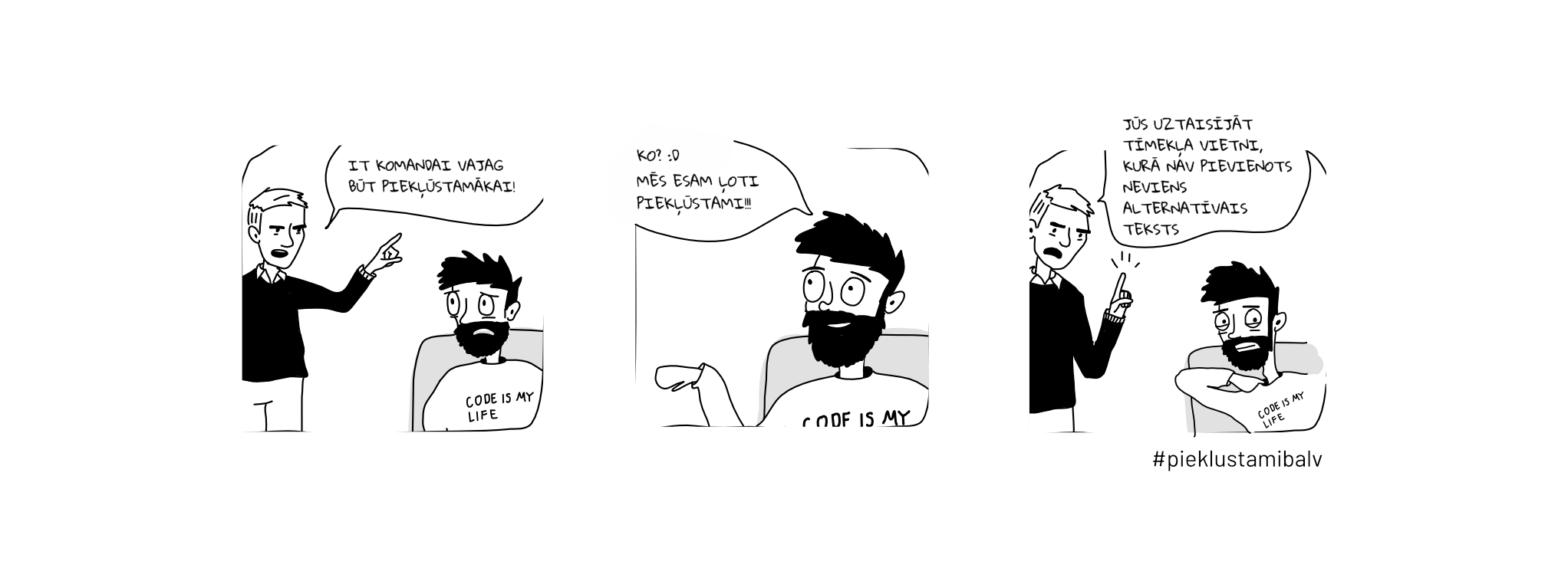Komikss par alternatīvo tekstu pievienošanu