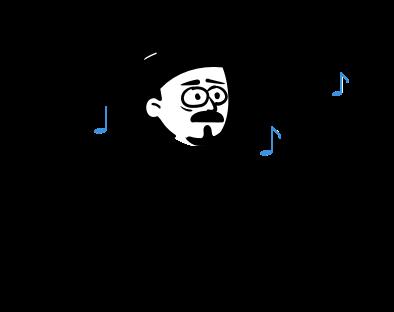 Cilvēks, kurš dzird lielu troksni