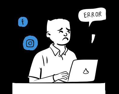 Apbēdināts cilvēks pie portatīvā datora